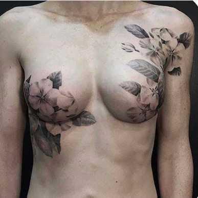Tatuagens feitas para esconder cicatrizes #15