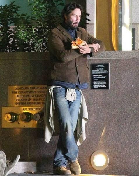 Keanu Reeves, humildade pura #11