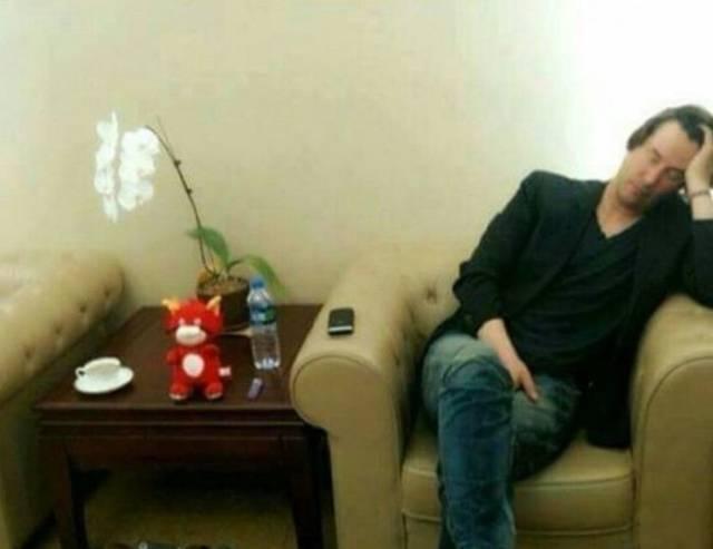 Keanu Reeves, humildade pura #13