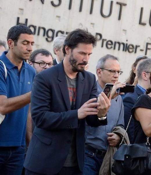 Keanu Reeves, humildade pura #2