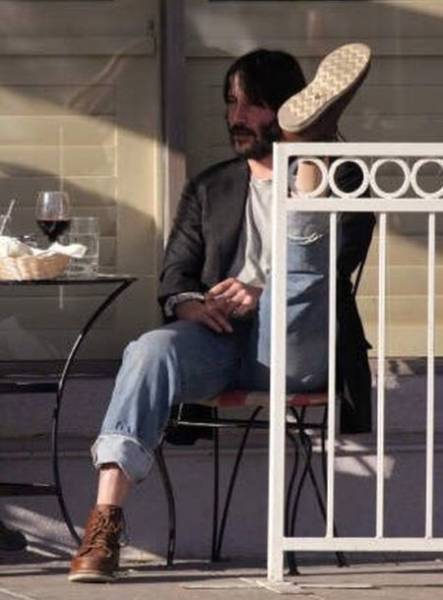 Keanu Reeves, humildade pura #5