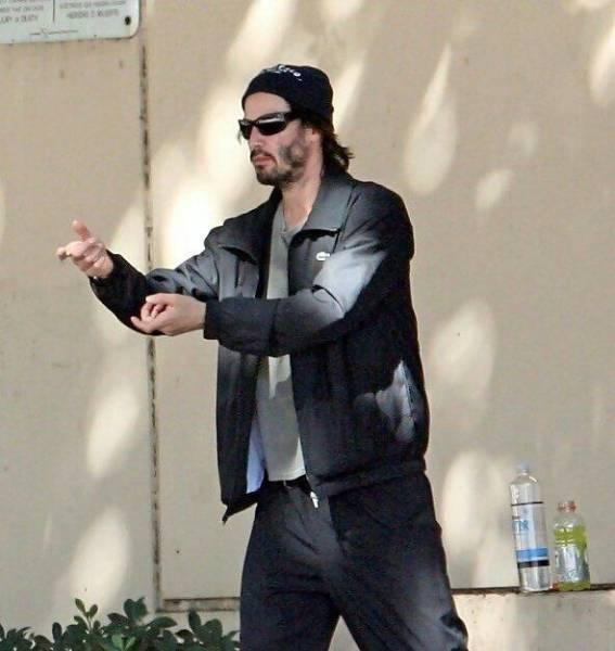 Keanu Reeves, humildade pura #7