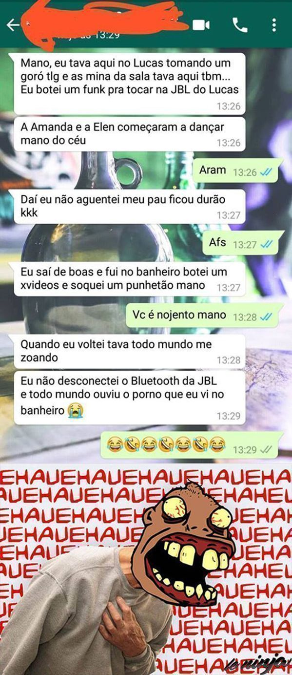 Desconecta o Bluetooth