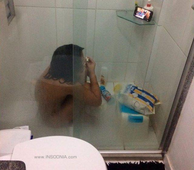 Chorar no banho é para os fracos