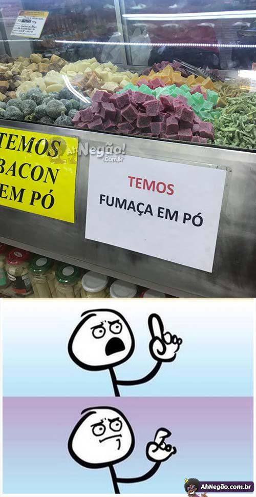 Supermercado estranho